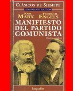 El manifiesto comunista.  Carlos Marx y Federico Engels 1848