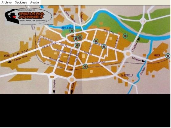 Mapa de la ciudad de Logroño